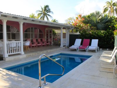 Photo for PINK VILLA – NEW PRIVATE POOL – GREAT LOCATION THE WEST COAST
