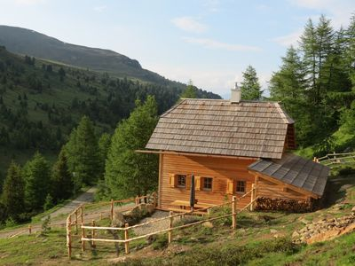 Photo for Romantic alpine chalet with panoramic Swiss stone pine sauna in the Lungau Biosphere Reserve