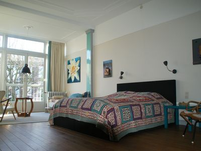 Photo for The Hague Hotspot, spacious two floor apartment near beach, bikes for free