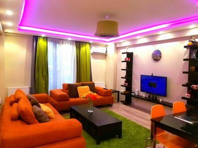 Photo for 1+1 Luxurious apartment fabulous location ( only for families )