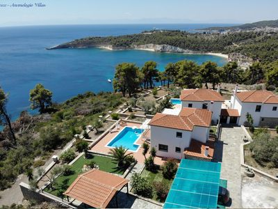 Photo for Luxurious Villa Anemologio with a private pool by the sea