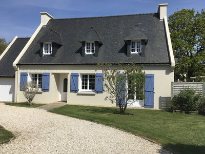 Photo for Villa 300m beach of white sands has Concarneau - Wi fi, garden