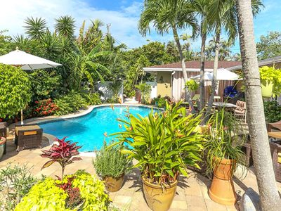 Photo for 150+ FIVE STAR RATINGS -- Upscale, Private Wilton Manors/Ft. Lauderdale Cottage