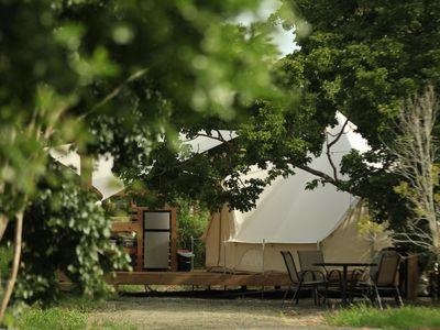 Photo for Pitahaya Glamping | 1 Queen + 2 Twins - Cabo Rojo