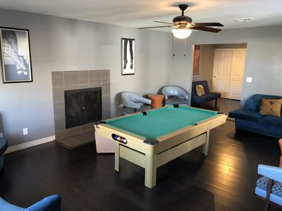 Photo for Tranquil House located 6miles from the Las Vegas strip. Lots of space 4 bedrooms