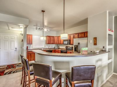 Photo for BEAUTIFUL VIEW of Camelback Mtn. w/Elevator, Pets ok, w/Pool & Spa in gated community!
