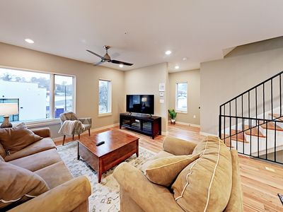 Photo for Chic 2BR w/ City Views & Epic Central Location -- Steps to Dining & Nightlife