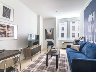 Photo for Sonder   Wall Street   Airy 1BR + Kitchen