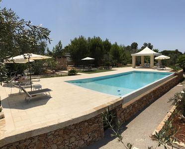Photo for Villa with pool GALLIPOLI (White Pool Matino)