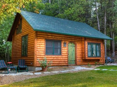 Photo for Door County Log Cabin in Ephraim, #1 Small Town in Midwest