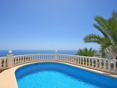 Photo for V.Panorama, pleasant villa with fantastic sea views, for 6/8, with private pool.