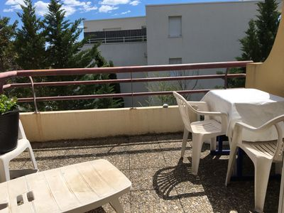 Photo for Bright duplex 65m2, 9 people, 2 large terraces