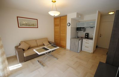 Photo for Studio, Cannes center, luxury residence with terrace and garage.