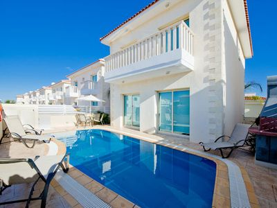 Photo for Protaras Deluxe Villa Dekatria is based only 200m from the beautiful resort of Protaras, on the sout