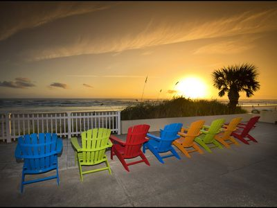 Photo for Pet Friendly - Angel Inn the Sand - Fish Unit Upstairs North Direct Beach Front
