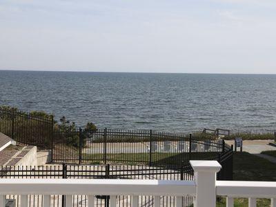 Photo for Cape Cod Oceanfront Beachfront New Condo with Ocean View & Private Sandy Beach!