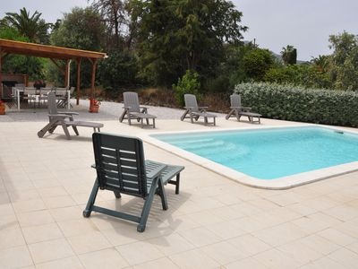Photo for VILLA WITH POOL - CALVI - 5 minutes from the BEACH