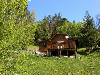 Photo for Cozy OWL ROCK CABIN in the National Park Slovak Paradise