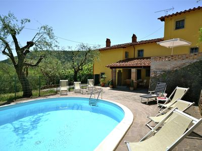 Photo for Warm Holiday Home in Vicopisano with Swimming Pool
