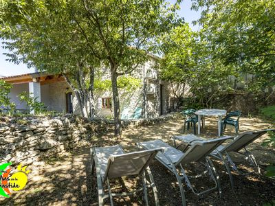 Photo for Stone cottage, swimming pools, Wifi, playground, village gites closed and sported