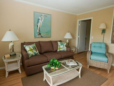 Photo for Panoramic Oceanfront View!  Beach front Heated Pool!