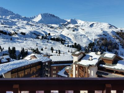 Photo for Apartment, ski in ski out Belle Plagne (2050m), 4 people, very nice view