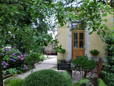 Photo for Garden house in the village of Laubegast with guest garden