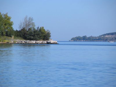 Photo for One of a Kind Door County Boathouse Waiting for Your Visit
