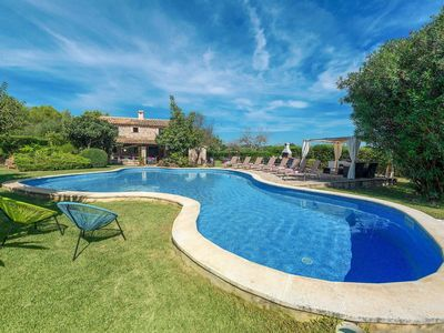 Photo for 4 bed 3 bath villa w/private pool, car essential, free A/C, WiFi, pool towels, table tennis.