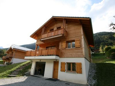 Photo for Chalet Standing 12 people (construction 2017) Les Contamines Montjoie