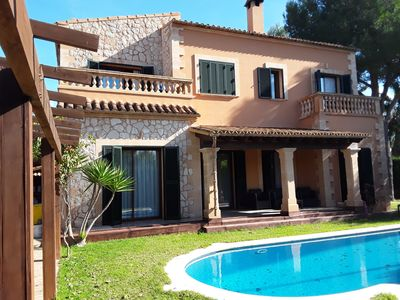 Photo for Puig de Ros Villa sea view with private pool and garden