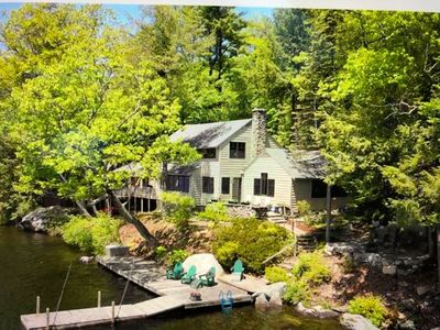 Photo for New Listing** Rare West/South Facing Lake Sunapee Cottage!
