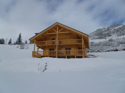 Photo for CHALET IN ST PAUL ON UBAYE