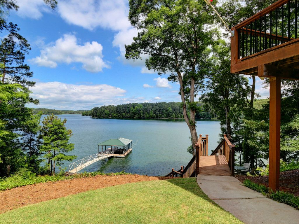 Lake Allatoona Vacation Home Best View Year Round Water 7mi To LakePoint
