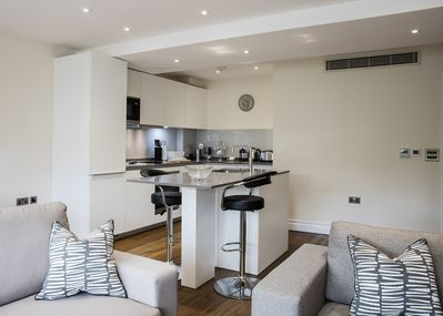 The real star of the holiday rental is the fabulous and spacious fitted kitchen.