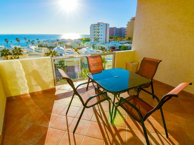 Photo for Beautiful 2 Bedroom Condo on the Sea of Cortez at Las Palmas Resort D-404
