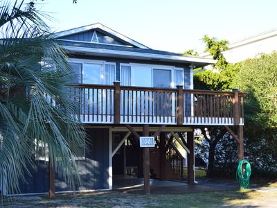 Photo for INCREDIBLE MARSH VIEW! UPDATED!! PRIVATE LOCATION!! 2 BLOCKS TO THE BEACH!!!
