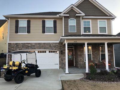 Photo for Masters Rental - Riverwood Plantation - New Home - Golf Cart Community