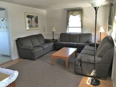 Photo for Large home for families, 2/10 mile to Kalmus Beach, sleeps 12 plus 2 GameRoom