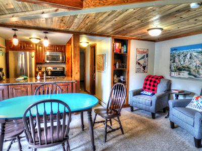 Photo for Fireplace and Heavenly Views of Ski Mtn w/ WIFI Hot Tub Pool