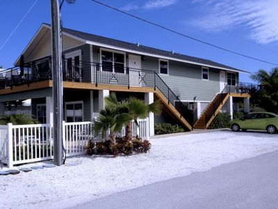 Photo for 2BR 2BA Across Beach, Gulf and LEGENDARY Skinny's Place, Steps Away from Shoppin