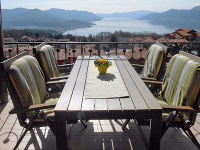 Photo for Vignone Apartment, Sleeps 6 with Pool and Free WiFi