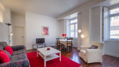 Photo for Camões apartment in Baixa/Chiado with WiFi, balcony & lift.