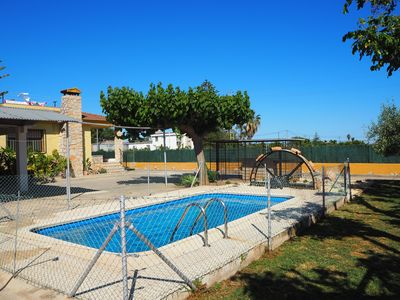 Photo for MEDITERRANEAN VILLA WITH POOL AND PRIVATE GARDEN IN BENICARLO
