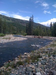 looking down Vallecito Creek