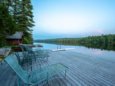 Photo for Charming Lakefront Cabin - R