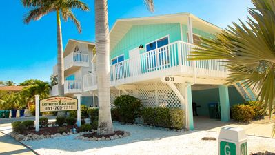 Photo for The Anna Maria Island Beach Castaway 1 - Located 20 Feet From The Beach-Gulf Views