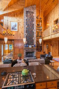 Photo for Jewel Of The Woods: Mountain Views, AC, Sauna, Wifi, On 33 Acre Gentleman's Farm