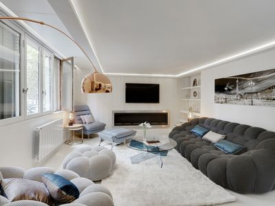 Photo for Incredible 3 bedrooms designer flat in Boulogne