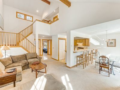 Photo for Charming, family-friendly home w/ a kitchen, deck, fireplace, books, & games